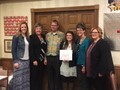 Gabi Dershem, Putnam County Optimist Character Award.