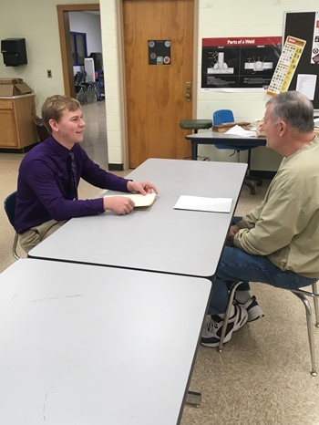 Mock Interview Day at Miller City High School