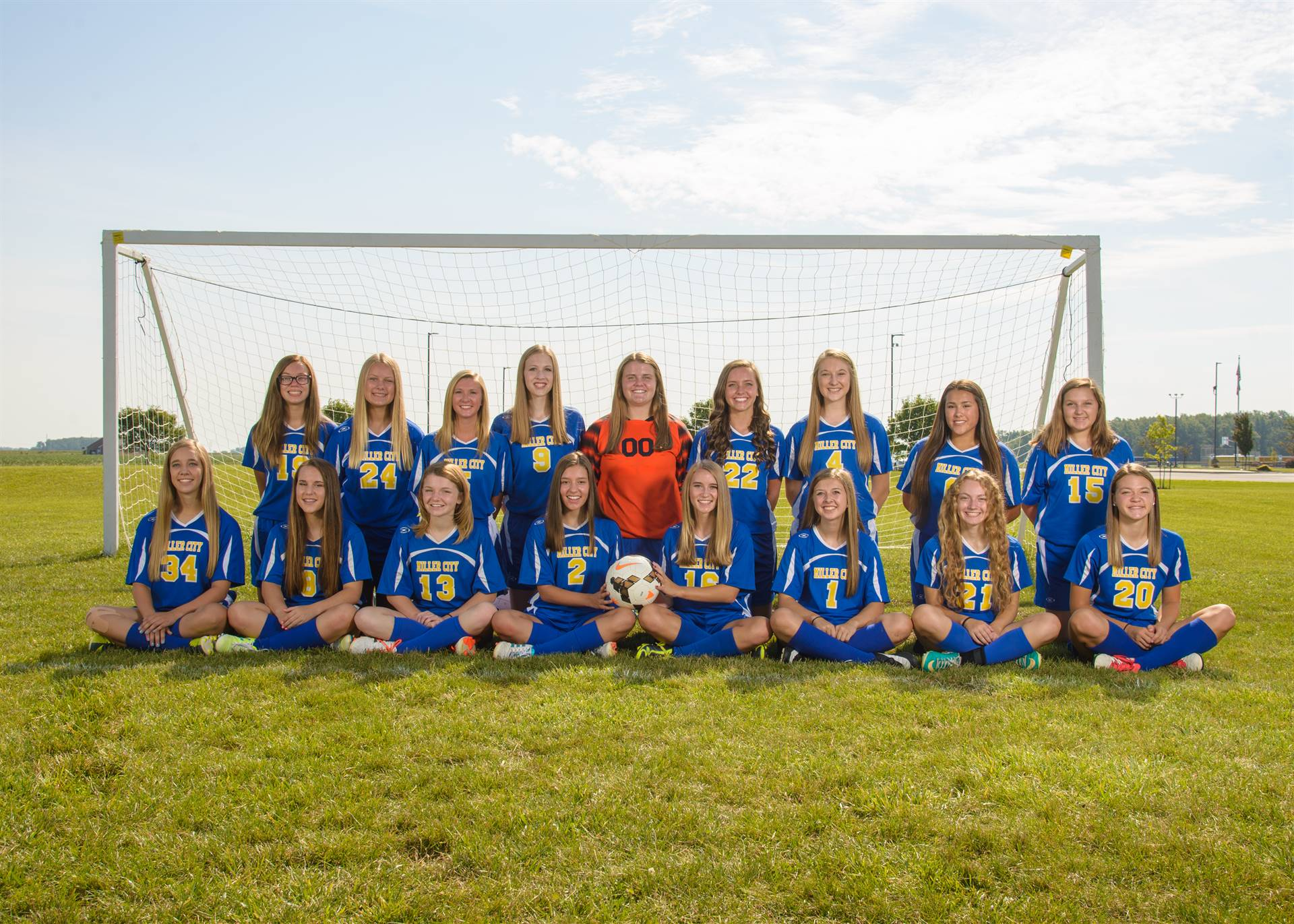 Girls Team JV Soccer Photo