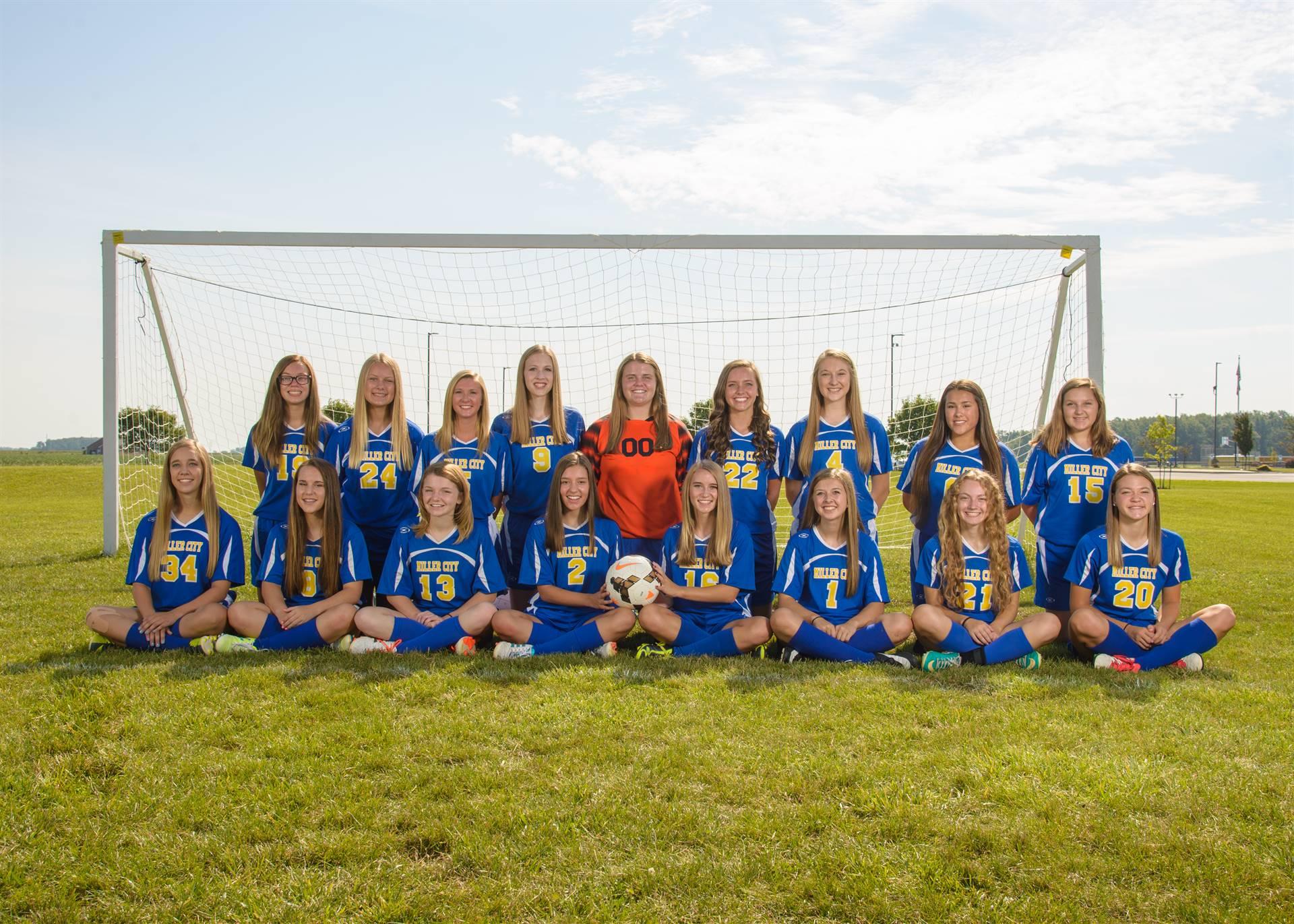 JV Girls Soccer Photo