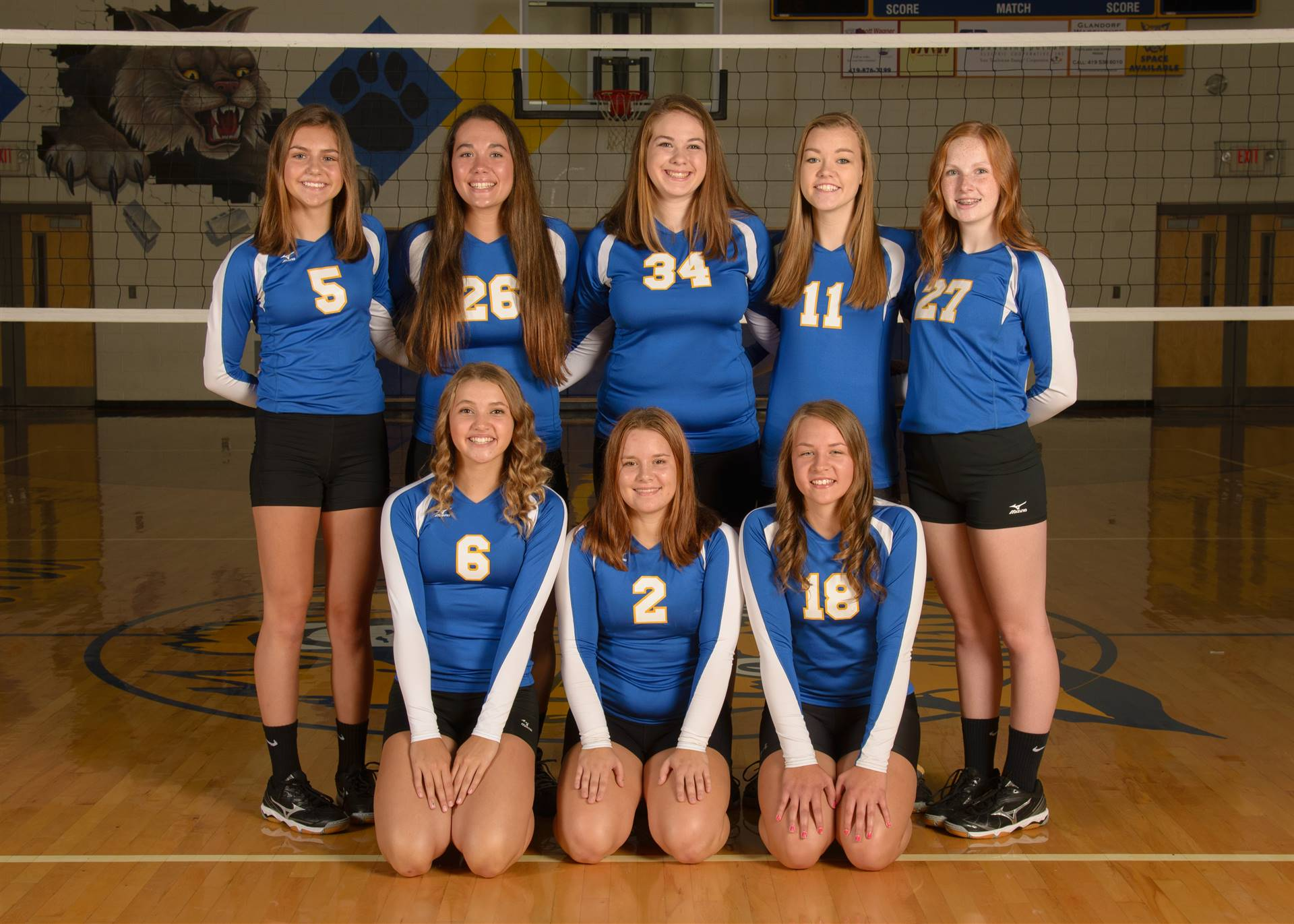 JV Volleyball Photo