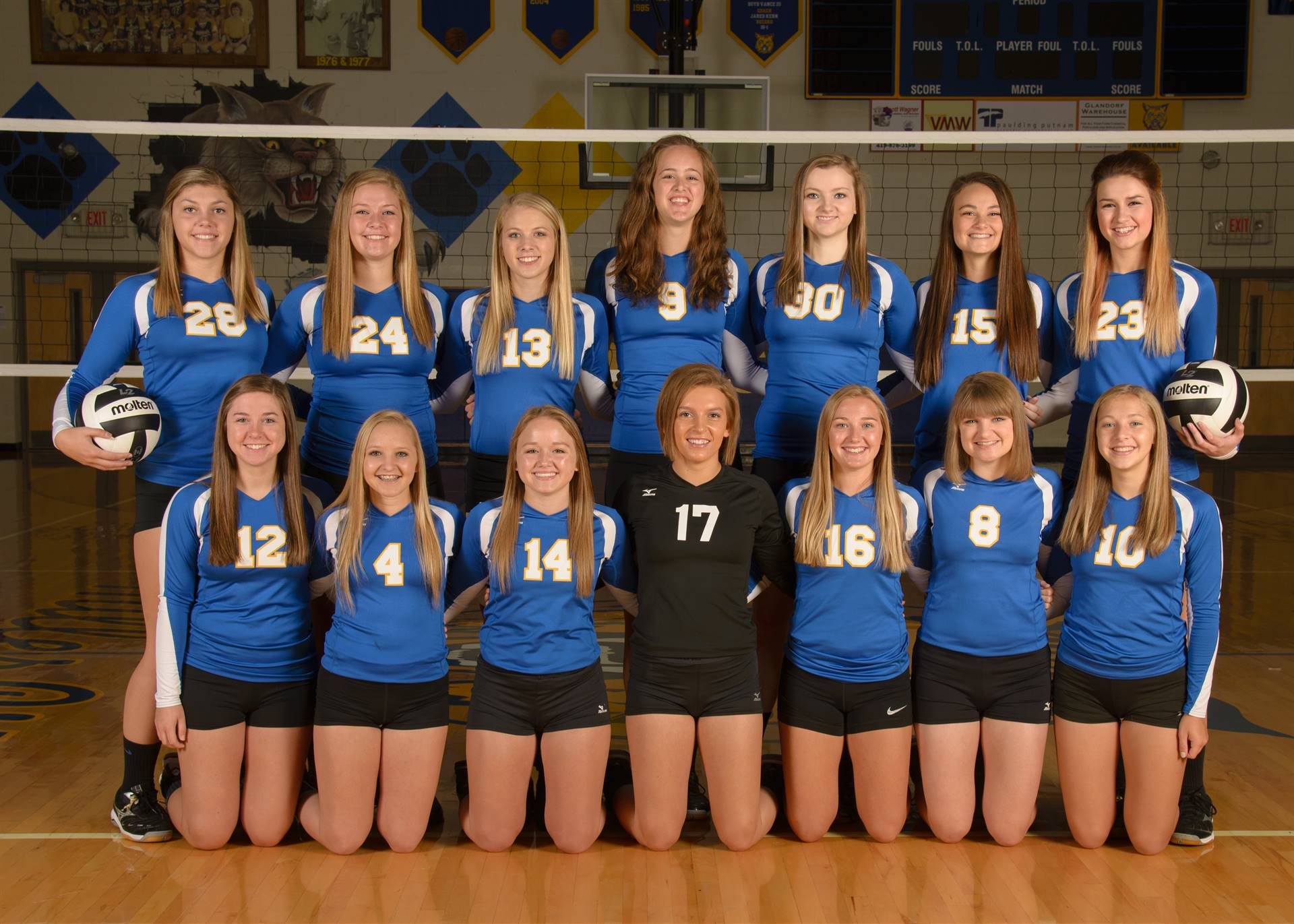 Varsity Volleyball Photo
