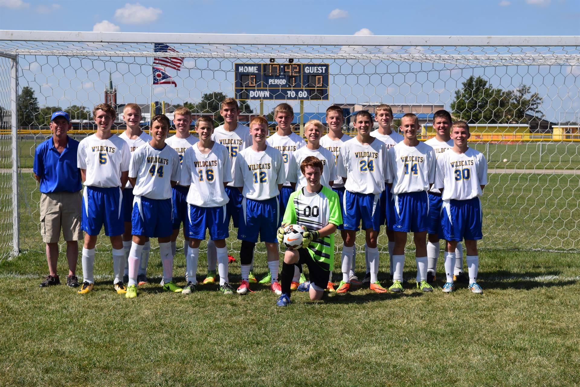 JV Boys Soccer Photo