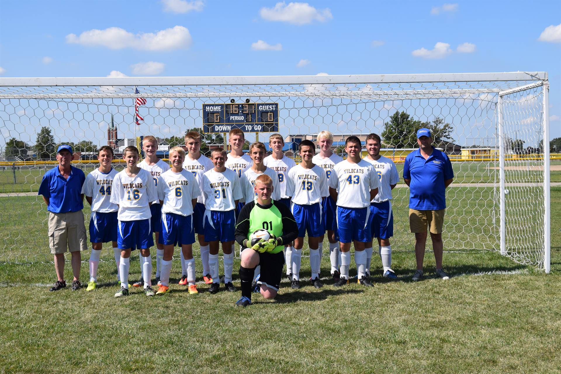 Varsity Boys Soccer Photo