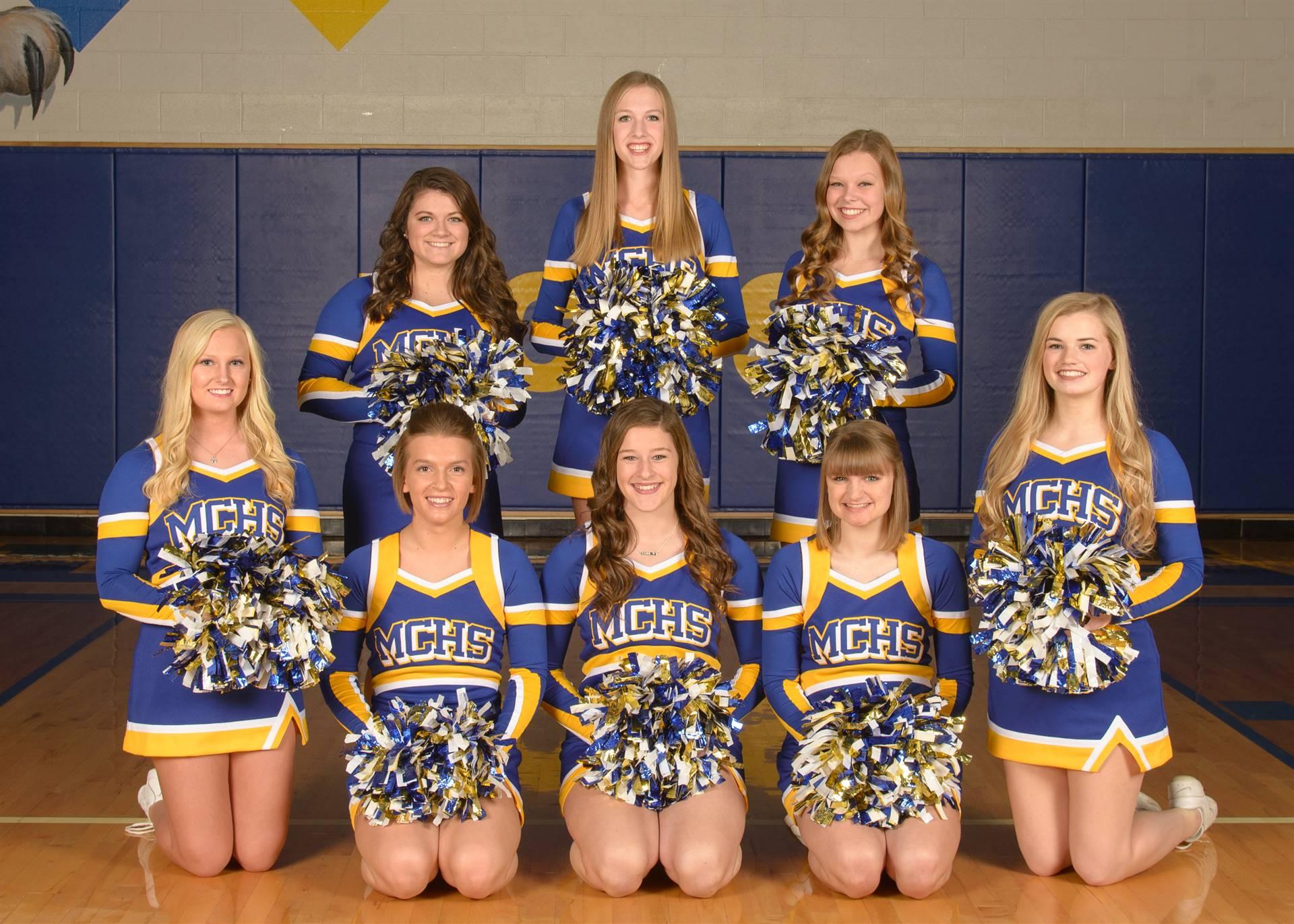 Varsity Cheer Photo
