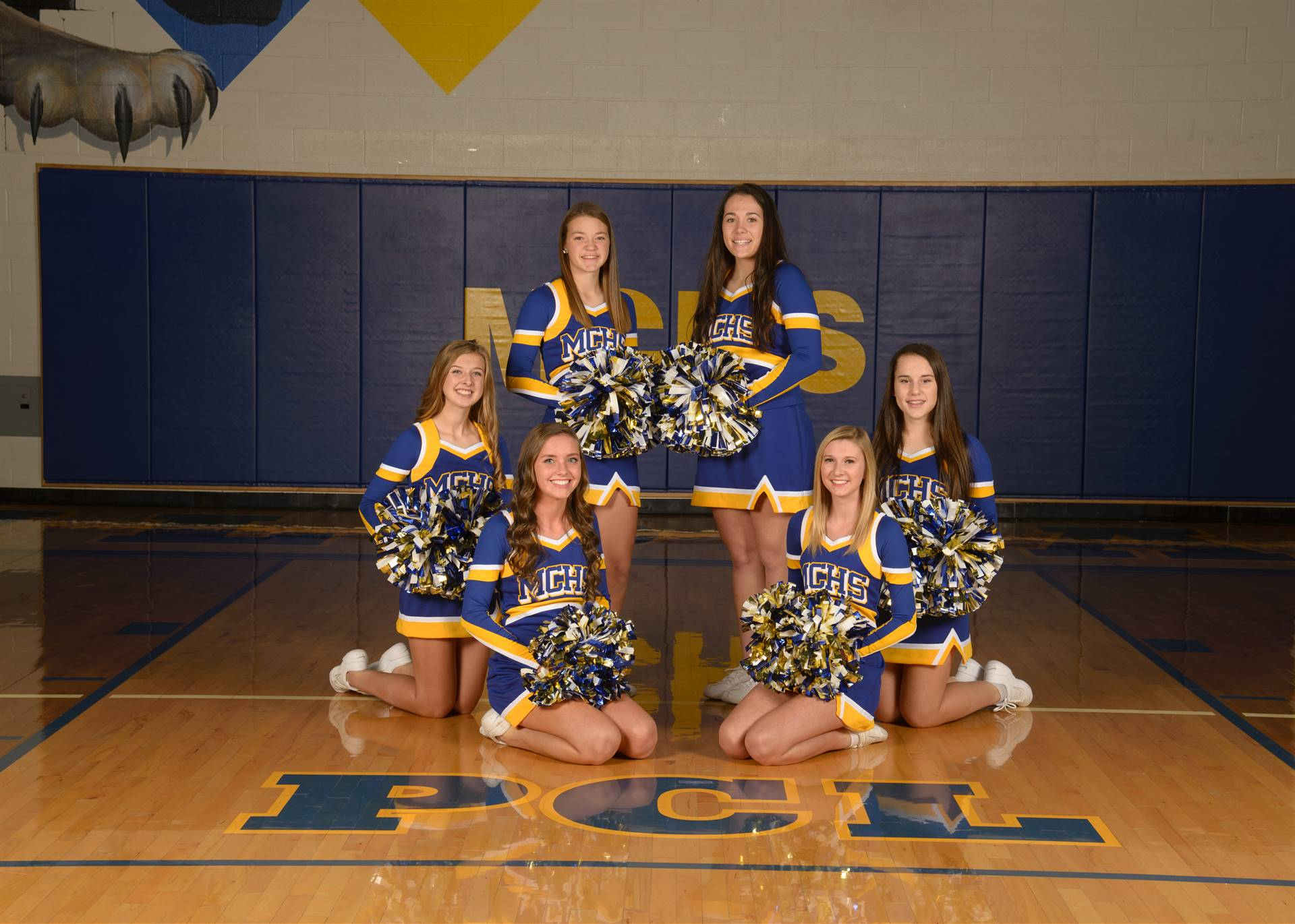 JV Cheer Photo
