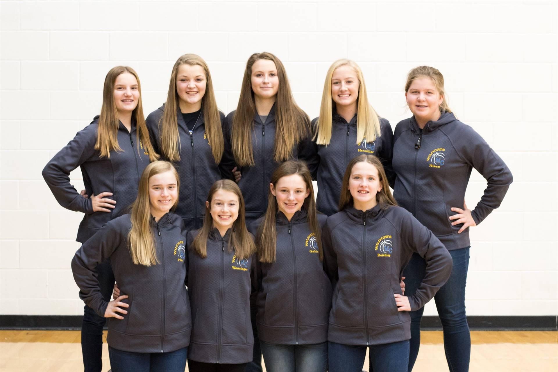 8th Grade Girls Basketball Team