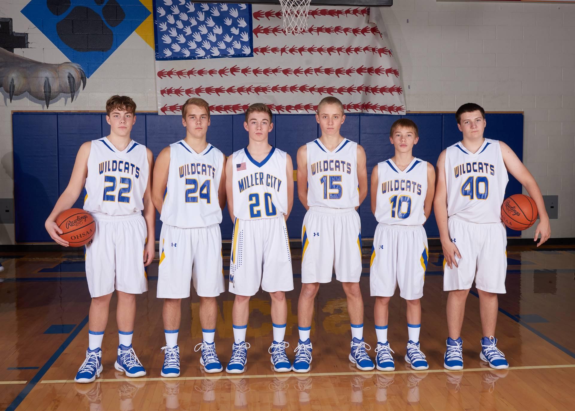Freshman Boys Basketball Team